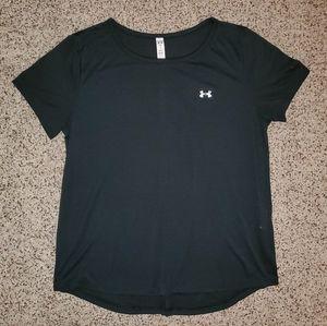 NWOT Under Armour Heat Gear Open Back Shirt